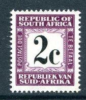 South Africa 1961-69 Postage Dues - 1st Wmk. - 2c Deep Reddish Violet MNH (SG D53) - Postage Due