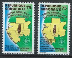 Gabon YT 470-471 XX / MNH - Gabon