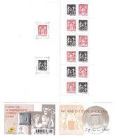 FRANCE CARNET 1523 140 ANS DU TYPE SAGE 14 Timbres à 0,80€. VOIR SCAN RECTO / VERSO - Carnets