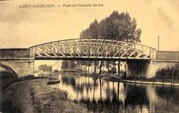 Saint-Ghislain - Pont Du Chemin De Fer (Edit. Gandibleu) - Saint-Ghislain