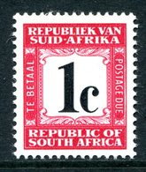 South Africa 1967-71 Postage Dues - 2nd Wmk. - 1c Carmine MNH (SG D59) - Postage Due