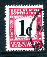South Africa 1967-71 Postage Dues - 2nd Wmk. - 1c Carmine Used (SG D60) - Postage Due