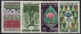 Tunisie, N° 520 à N° 523** Y Et T - Tunisie (1956-...)