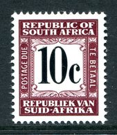 South Africa 1967-71 Postage Dues - 2nd Wmk. - 10c Brown MNH (SG D70) - Postage Due