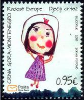 2018 Joy Of Europe, Children's Drawings, Montenegro, MNH - Montenegro