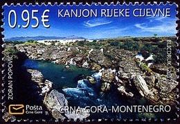 2017 Environmental Protection, Cijevna River, Montenegro, MNH - Montenegro