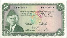 PAKISTAN - 10 Rupees UNC - Pick 21 - Pakistan