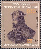 2017 Historical Heritage, Montenegro, MNH - Montenegro