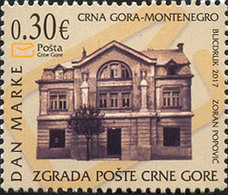 2017 Stamp Day, Montenegro Post, Montenegro, MNH - Montenegro