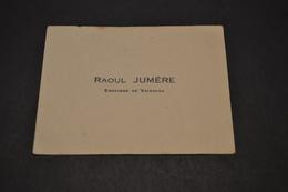 Carte De Raoul Jumère Enseigne De Vaisseau Probablement Transatlantique - Cartoncini Da Visita