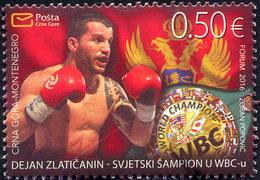 2016 Boxing, WBC World Champion Dejan Zlatičanin, Montenegro, MNH - Montenegro