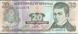 HONDURAS - 20 Lempira 2006 - UNC - Honduras