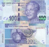 AFRIQUE DU SUD - 100 Rand 2012 - NELSON MANDELA - UNC - Afrique Du Sud