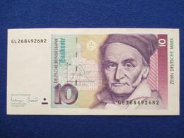 10 Deutsche Mark 1993,  Original - 1949-…: BRD