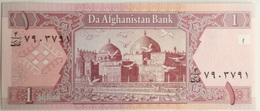 Billete Afganistan. 1 Afgani. 2002. Original. Sin Circular - Afghanistán