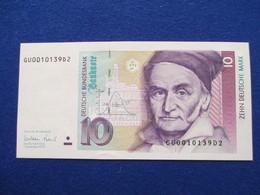 10 Deutsche Mark 1999, UNC - Kassenfrisch, Original - 1949-…: BRD
