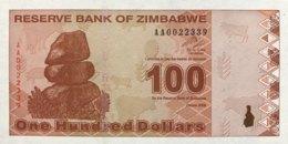 Zimbabwe 100 Dollars, P-97 (2009) - UNC - Simbabwe