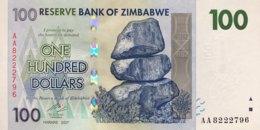 Zimbabwe 100 Dollars, P-69 (2007) - UNC - Zimbabwe