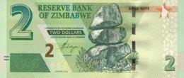 Zimbabwe 2 Dollars, P-99 (2016) - UNC - Simbabwe