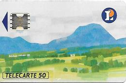 CARTE-PUCE-PRIVEE-PUBLIC- 50U- EN-32-SC5ab-LECLERC Clermont Ferrand-Utilisé-TBE - Francia