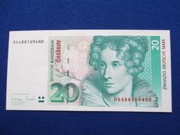 20 Deutsche Mark 1993, Original - 1949-…: BRD