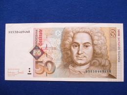 50 Deutsche Mark 1996, Original - 1949-…: BRD