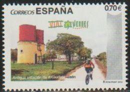 España 2012 Edifil 4744 Sello ** Vias Verdes Del Aceite, Antigua Estación De Alcaudete Jaen Spain Stamps Timbre Espagne - 2011-... Nuevos & Fijasellos