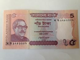 Billete Bangladesh. 5 Taka. 2012. Sin Circular - Bangladesh