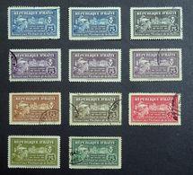 Haiti 1944 Postal Tax Stamps Mint/Used Selection. - Haïti