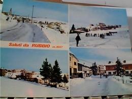 VICENZA - RUBBIO SALUTI DA. E VEDUTE   VB1971 GY6089 - Vicenza