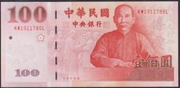 Taiwan 100 Yuan 2000 P1991 XF/AUNC - Taiwan
