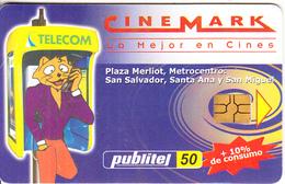EL SALVADOR - Cinemark, Used - Salvador