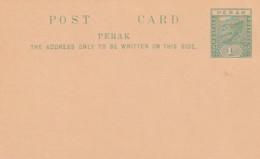 Malasia Peraks Postcard 1895 - Malaysia (1964-...)