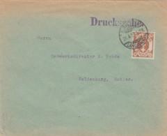 Deutsches Reich Danzig Brief 1923 - Dantzig