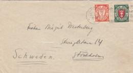Deutsches Reich Danzig Brief 1931 - Dantzig