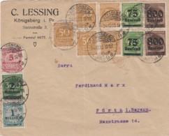 Deutsches Reich INFLA Brief 1920-23 - Lettres & Documents