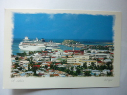 ST JOHN'S - Antigua, West Indies - Panoramic View Of The City Of St John's From Atop Michael's Mount - Antigua & Barbuda