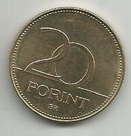 Hungary 20 Forint 2018. - Hongrie