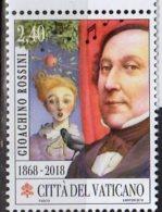2018 Vatican - 150 Years Of G. Rossini Death - Composer - Wilhelm Teil Ouvertoure Apple And Arrow -MNH** (ro) - Vaticano (Ciudad Del)