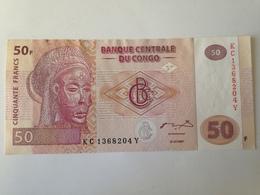 Billete Congo. 50 Francos. 2007. Sin Circular - Zonder Classificatie