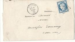 Seine - Suresnes Pour Montfort L'amaury. GC 3470 + CàD Type 16 - Marcophilie (Lettres)