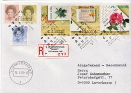 Postal History Cover: Netherlands R Cover Gravenhage Filacept - Philatelic Exhibitions