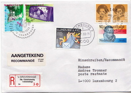 Postal History Cover: Netherlands R Cover Gravenhage - Philatelic Exhibitions