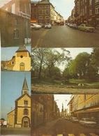 Sint-Truiden / St-Trond : 6 Kaarten Oa : Tiensestraat, Luikerstraat ,park, Kerken,... - Sint-Truiden