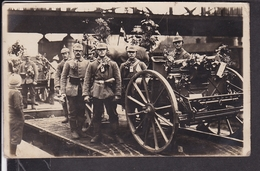 Foto Soldaten Maschinengewehr , Württ.Feldpost , Landw.Inf.Regt. 126  Feldpost 1915 - Guerre 1914-18