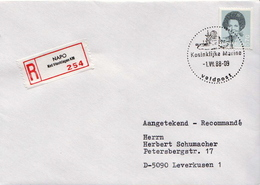 Postal History Cover: Netherlands R Cover NAPO - Militaria