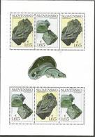 SK 2018-669-70  Nature Protection: Slovak Minerals SLOVAKIA, MS, MNH - Mineralien