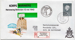 Postal History Cover: Netherlands R Cover Korps Mariniers - Militaria