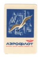 1242 Soviet Russia 1971 Airlanes Aeroflot Advt Riga Agensy - Calendarios