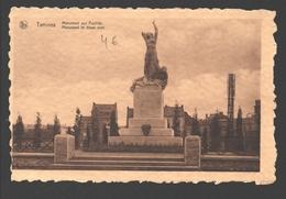 Tamines - Monument Aux Fusillés - éd. Imprimerie De Roover-Goffart, Tamines - Papier Avec Texture - Sambreville